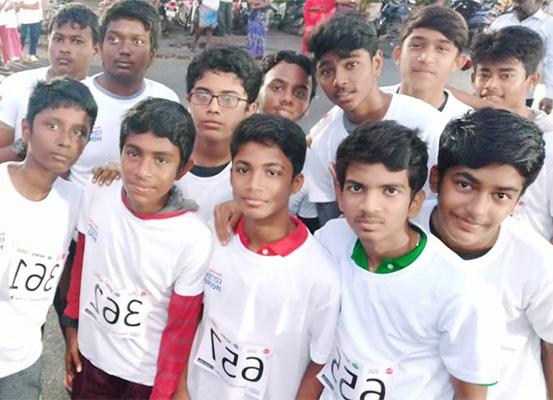 Shraddha Children's Academy - Chennai police run