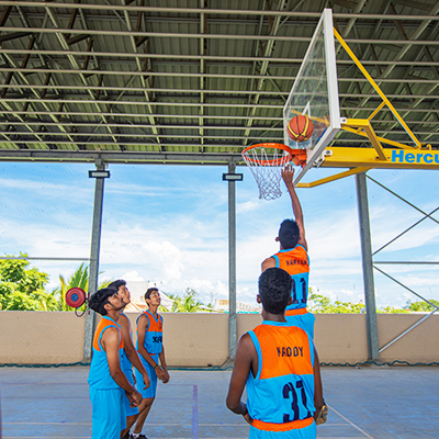 Basketball at Shraddha Childrens Academy