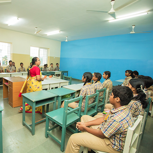 Classrooms Shraddha Childrens Academy
