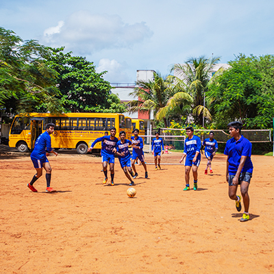 Football Playground at Shraddha Childrens Academy