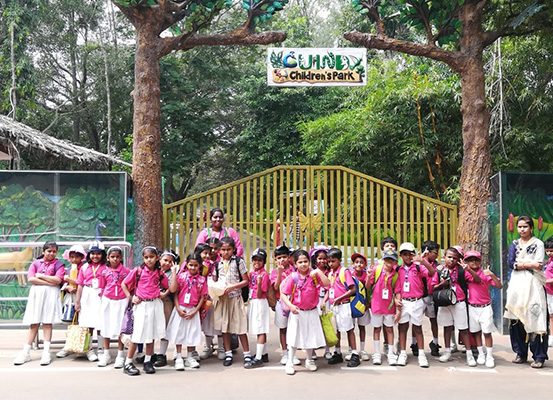 Grade I & II Field Trip to Guindy National Park on 07-Nov-2019