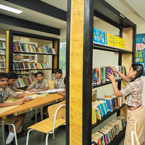 Library Shraddha Childrens Academy