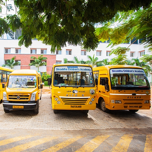 School Transportation Shraddha Childrens Academy