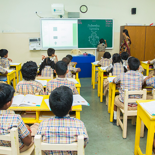 Smart Class rooms in Shraddha Childrens Academy