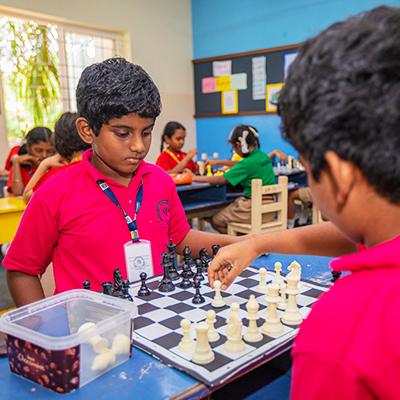 Chess Tournament at Shraddha Childrens Academy